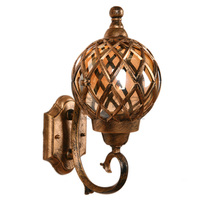 Mediterranean Villa Outdoor Moistureproof Wall Lamps Landscape Wall Lamps Spherical Hollow Out Wall Lamps Corridor Wall