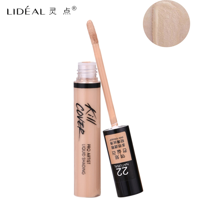 Lperfect Full Cover Liquid Concealer Makeup 10G Eye Dark Circles Cream Face Corrector Waterproof Make Up Base Cosmetic