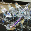 85 60mm 1pcs Lot Austrian Crystal Glass Charms Pendant Crystal Shoes Pendant Crystal Crafts Home Decor