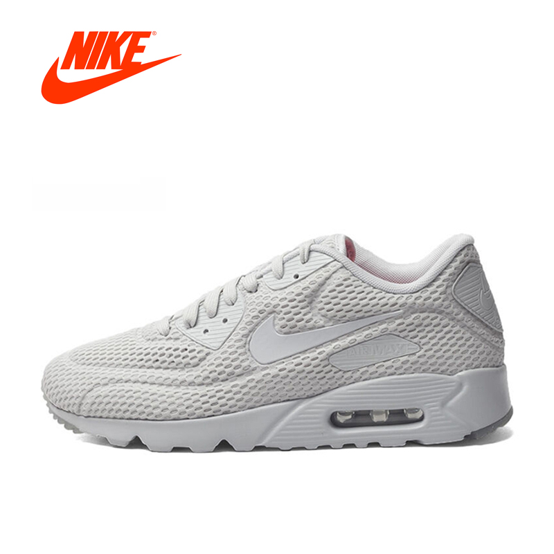 Original New Arrival Authentic NIKE Breathable AIR MAX 90 Men's Running Shoes Sneakers nike original 2017 summer new arrival air max 90 women s running shoes sneakers