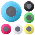 10pcs Portable Waterproof Wireless Bluetooth Speaker Shower Car Handsfree Receive Call mini Suction speakers box  Promotion