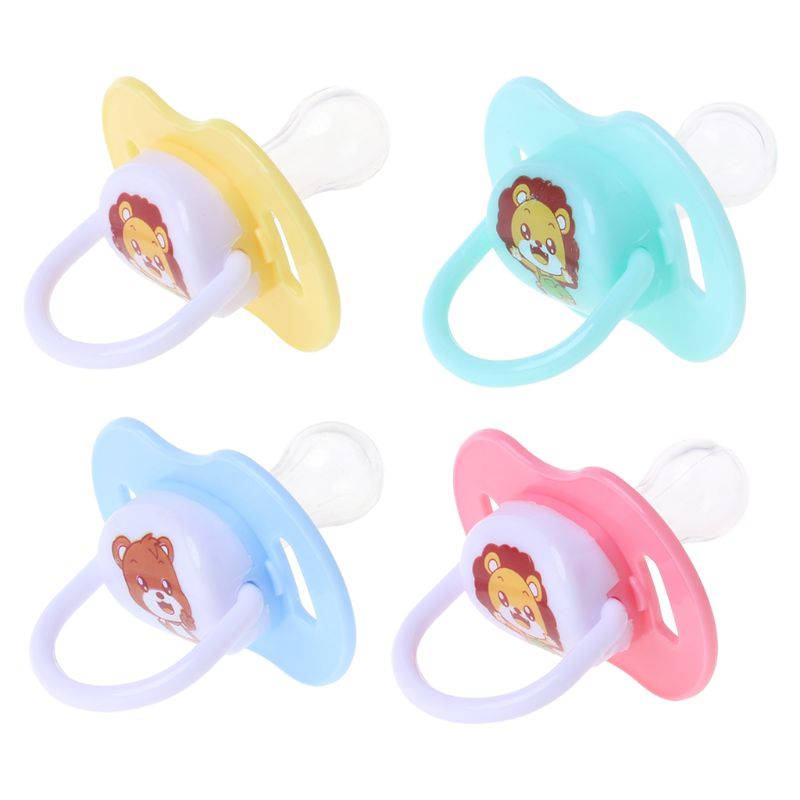 Baby Nipple Food Grade Silicone Pacifier Round Head Infant Newborn Soother Orthodontic BPA Free Safe Teether Care