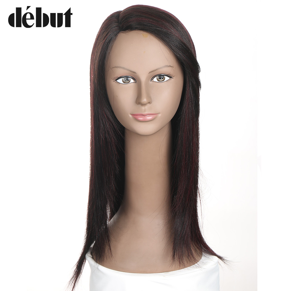 Lace Wigs Part Lace Wigs Professional Sale Debut Hair Long Straight Wig Lace Front Human Hair Wigs J Part Wig Brown/black/blonde/orange/red Bob Wig For Women