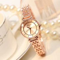 Men Watches 2016 Women Watch Clover Famous Brand Fashion Stainless Steel Bracelet Quartz Wrist Watches For