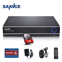 SANNCE 4 Channel Digital Video Recorder Full 720P CCTV DVR H 264 HDMI 1080P Video Output