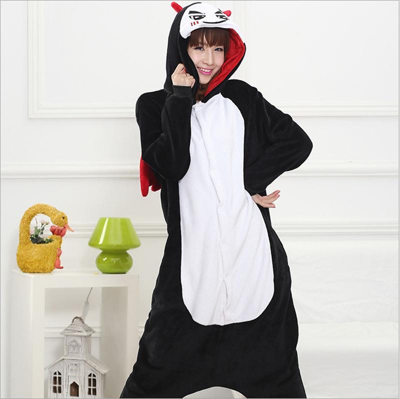 Hot Adult Flannel Pajamas Cosplay Cute Cartoon Devil Animal Winter Women Christmas Halloween Pajama Pyjama Sets Homewear