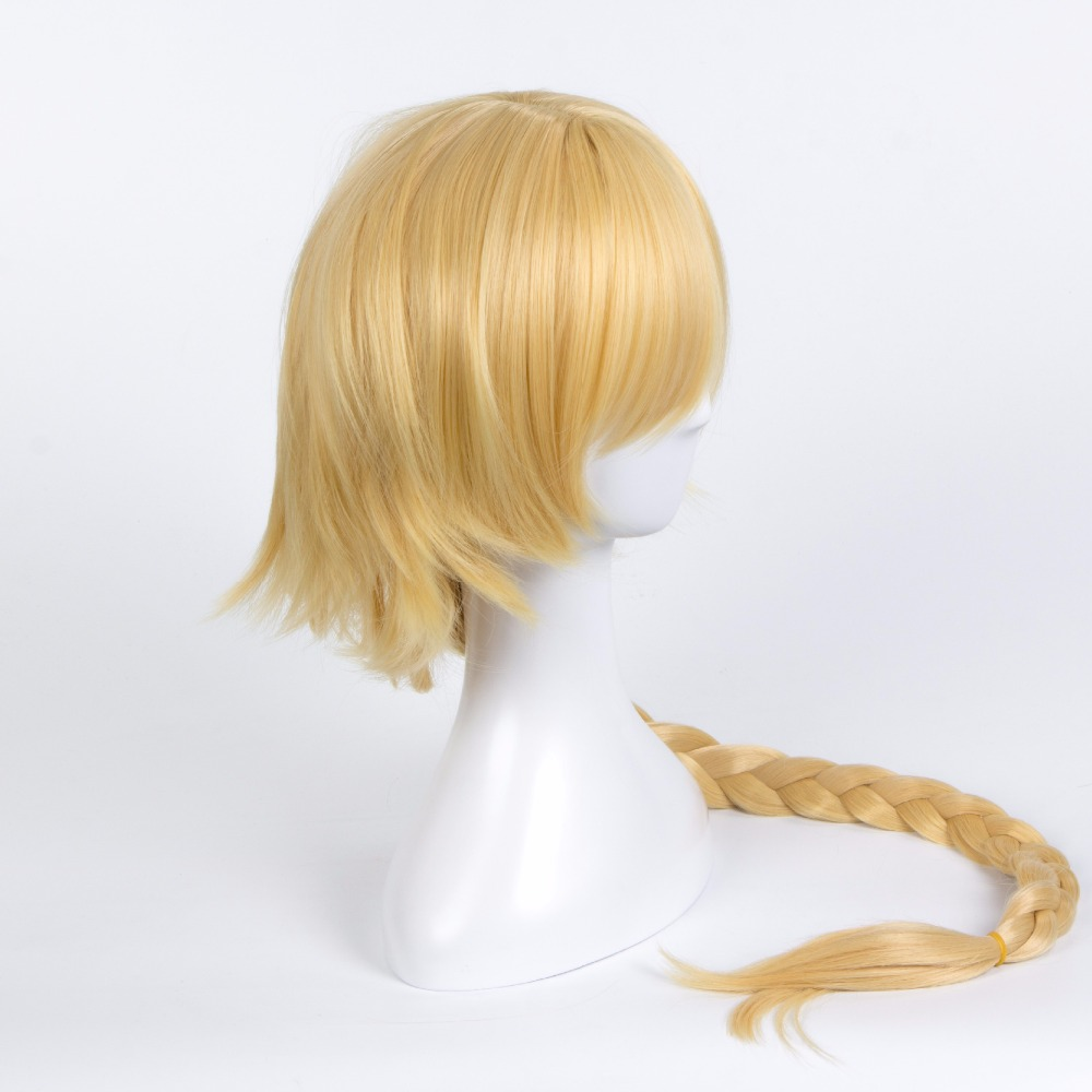 Anime Fate/Apocrypha R& ider Astolfo Wig Cosplay Costume Fate grand Men Women Long Synthetic Hair Halloween Party Play Wigs