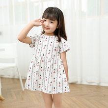 Kid baby clothing Dress 2018 New Preppy Spring Style Girls Dress Summer  Princess Dress Design Kids Clothes Dress ea7e02d77591