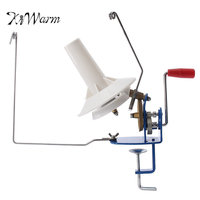 KiWarm Practical Heavy 10 Ounce Needlecraft Metal Yarn Fiber Wool Ball Winder Hand Operated For Sewing Accessories Tools