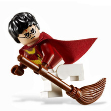HARRY POTTER Movie Harry Quidditch Match hp110 4737 Model Assemble Building minifig Blocks Bricks Kids Toys