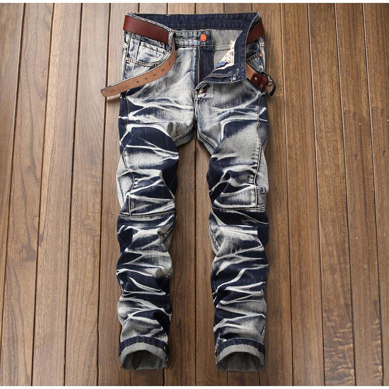 a3a5a8975e Jeans Cheap Jeans MCCKLE Metrosexual Straight Jeans Men.Ofrecemos el mejor  precio al por mayor