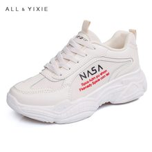 ALL YIXIE 2019 Hot Fashion INS Style Leisure Shoes Female Autumn Casual Breathable Platforms Women Sneakers Student