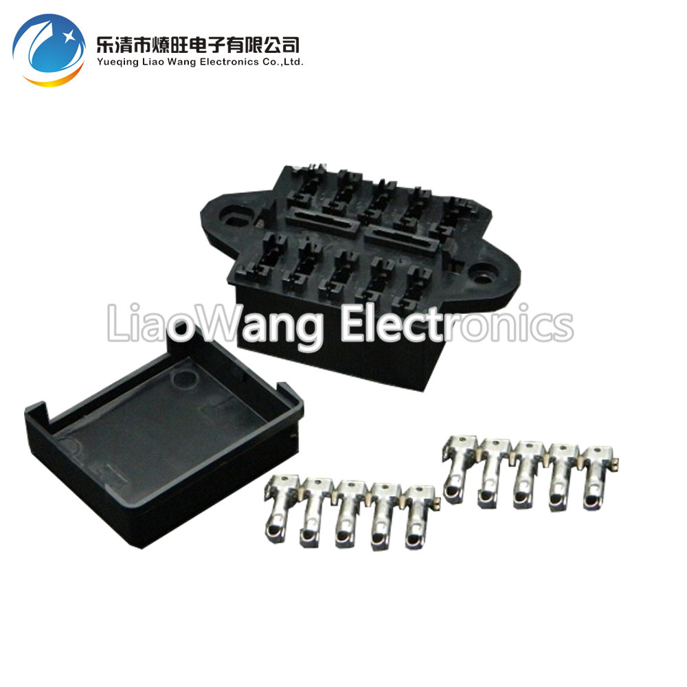 10 Way Auto fuse box assembly With terminals Dustproof fuse box fuse box mounting fuse box 10 way auto fuse box assembly with terminals dustproof fuse box Car Fuse Box Fuse Symbol at virtualis.co