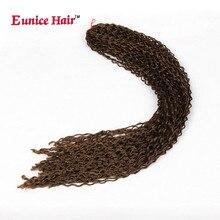 24 ' синтетическая курчавая косичка Zizi Micro Box Косы для наращивания волос Узел Zizi Черная  Лучший!