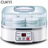 CUKYI Fully Automatic Household 1 5L Multifunctional Yogurt Machine Making Natto Rice Wine Red Wine With