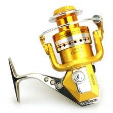 YUMOSHI  Brand Fishing reel Full Metal body Foot Handle Mix 14kg Super strength 13 Ball Bearings 5.2:1 High speed Rod Combo