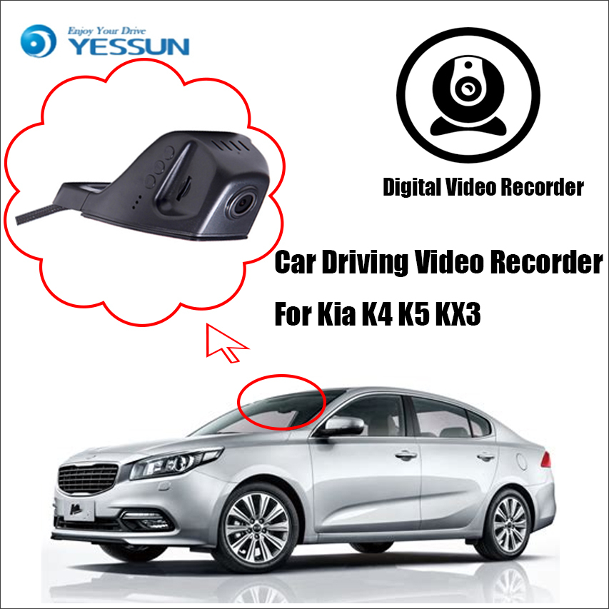 YESSUN Car DVR Driving-Video-Recorder Back-Camera Rear No 1 For Kia K4 K5 Kx3/Front/Dash-camera/Hd