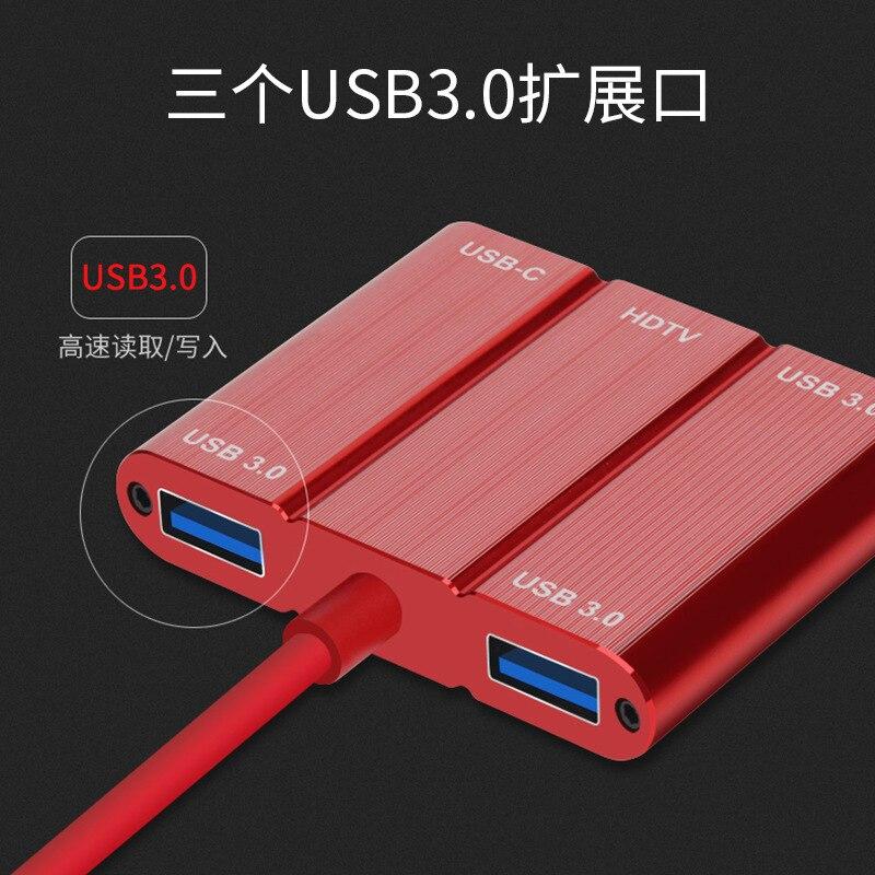 Type C to HDMI USB3.0 Adapter Type C Laptop Docking Stations USB HUB