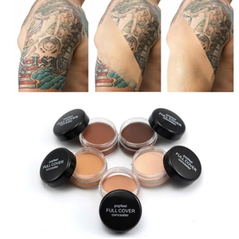 Hide Blemish Face Eye Lip Cream Concealer Makeup Foundation Professional Full Cover Contour Base Make Up Concealer Cream Hot
