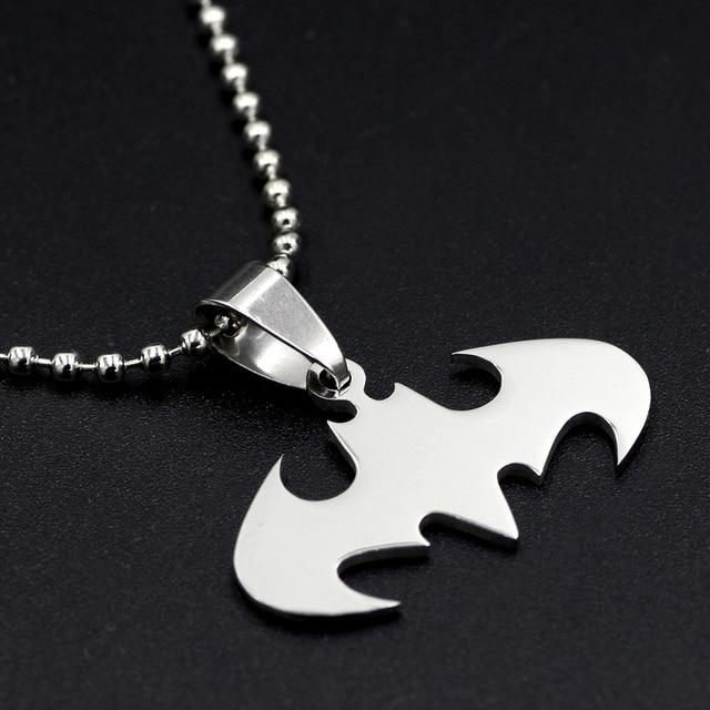 Кулон с эмблемой Бэтмен нержавеющая сталь