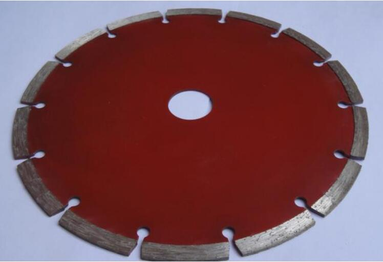 Free shipping of decoration 230*25.4*8mm segmented diamond saw blades for tile/concrete/marble/granite general cutting 16 brazed welded diamond segmented saw blades for cutting granite and marble 400mm 50mm 10mm 3 6mm