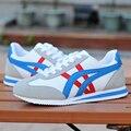 Esportes dos homens novos da marca sapatos respirável confortáveis sapatos de caminhada ao ar livre da Aptidão runing sapatos casal série Zapatos de mujer