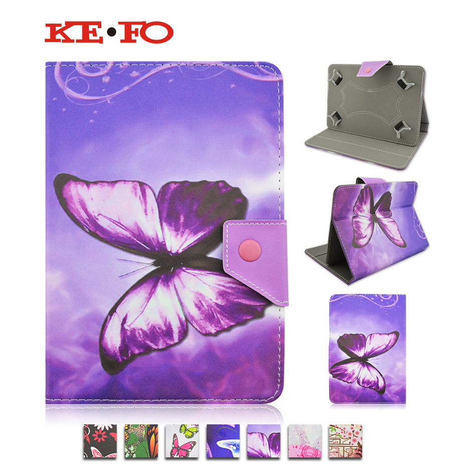 Butterfly PU Leather Cover Case for ipad air 1 2 for ipad 2 3 4 5 6 pro 9.7inch Tablet 10 10.1 Universal Tablet PC PAD M4A92D universal 61 key bluetooth keyboard w pu leather case for 7 8 tablet pc black