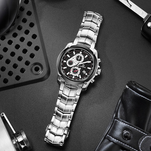 Image 3 - CASIMA Mens Chronograp Sport Watch Fashion 100M Waterproof Diver Military Quartz Wrist Watch Clock Men saat Relogio Masculino