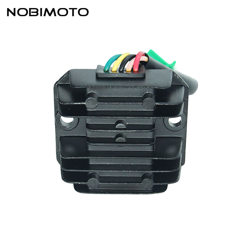 Motocross Voltage Regulator 5 wire AC Rectifier Fits For 8 poles AC Full Wave Engine Dirt Bike Go Kart Scooter ATV Quad DQ-108