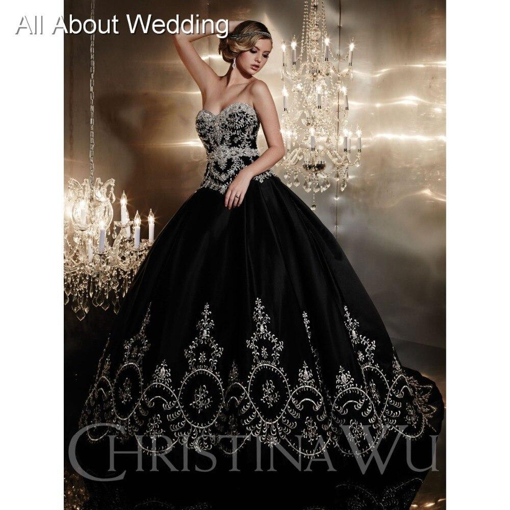 Online Get Cheap Black and Silver Ball Dress -Aliexpress.com ...
