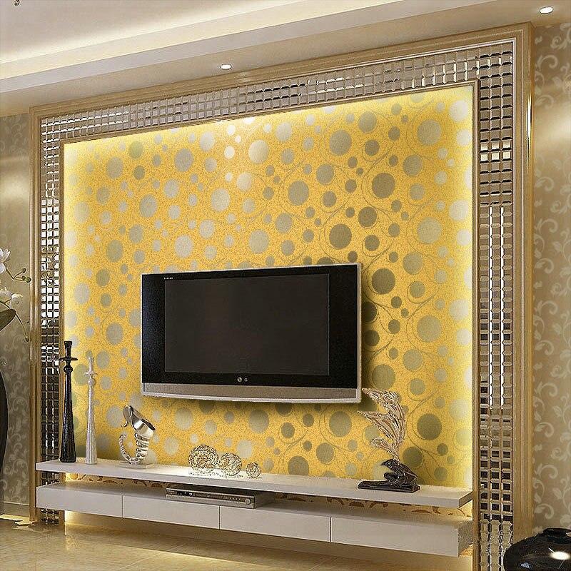 Luxury Wallpaper Bedroom Abstract Circles 3D Wallpaper Walls Wall ...