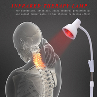 Infrared Heat Therapy Lamp With Flexible Arms for Muscle Pain and Cold Relief, Light Therapy