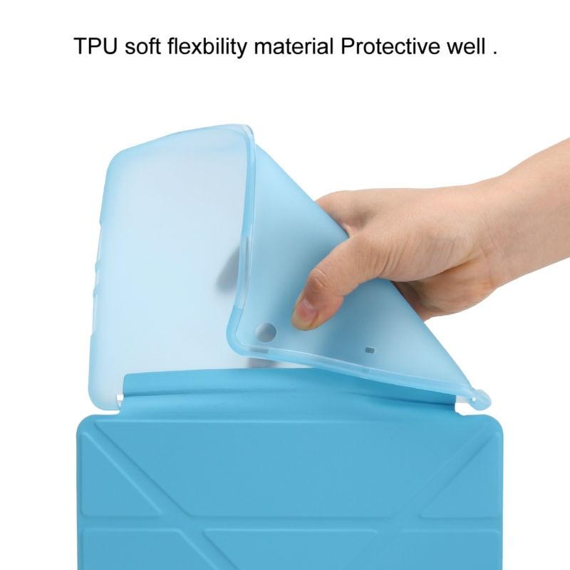 Lepo zaščiteno prožno mehko tpu silikonsko hrbtno torbico za - Dodatki za tablične računalnike - Fotografija 4
