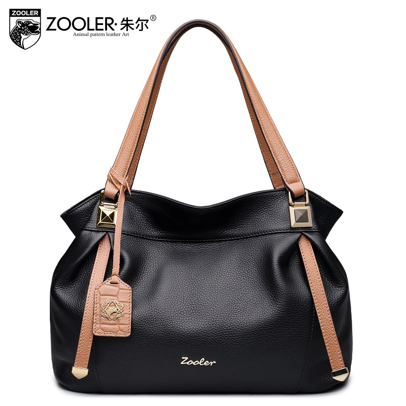 ZOOLER Designer Handbags High Quality Genuine Leather Bag Fashion Large Capacity Hobos Handbag Women Messenger Bags Tote Bolsos