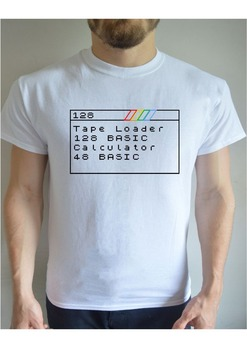 Funny Printed T Shirt Zx Spectrum 80S Computer Retro Geek Birthday Gift 2019 New Short Sleeve Men 100 % Cotton Custom Tee Shirts