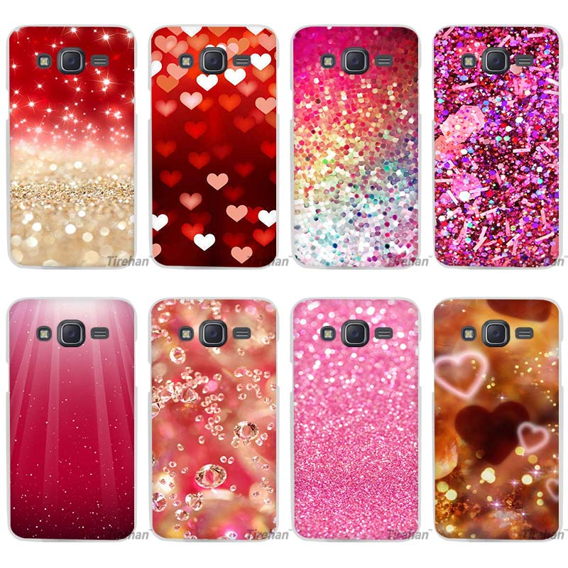 glitter red decoration clear case cover coque shell for samsung galaxy j1 j2 j3 j5 j7 2016 2017. Black Bedroom Furniture Sets. Home Design Ideas