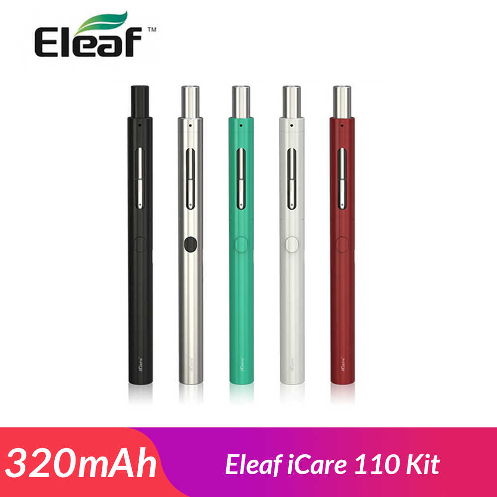 Original Eleaf iCare 110 Starter Kit 1,3 ml gebaut in 320mAh Batteer mit Eleaf IC 1.1ohm Spule elektronische zigarette vape stift kit