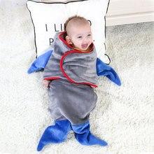 Baby blanket Flannel Soft Warm Newborn Toddler Swaddling Wrap Kids Fishtail Design Sleeping Bag Infant Stroller Sleep Bedding fishtail design bag accessory