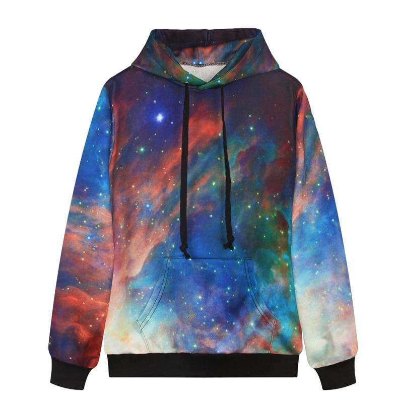 Gradiente Starry Night Hoodies Skate Harajuku Com Capuz Camisolas Pullover  Solta Bolsos Outono Jaquetas Homens Unisex FTDMW 5ab5cb20e9211