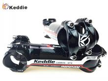 Keddie Red alloy + 3k carbon fiber road bicycle stem mountain bike parts stem60/70/ 80 /90/ 100 /110mm patented technology