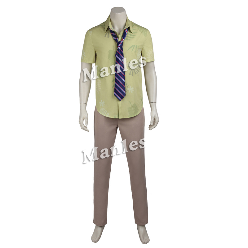 ZOOTOPIA Nick Wilde Cosplay Costume Fox Cos ZOOTOPIA Nick Cosplay outfit Shirt pants and Tie