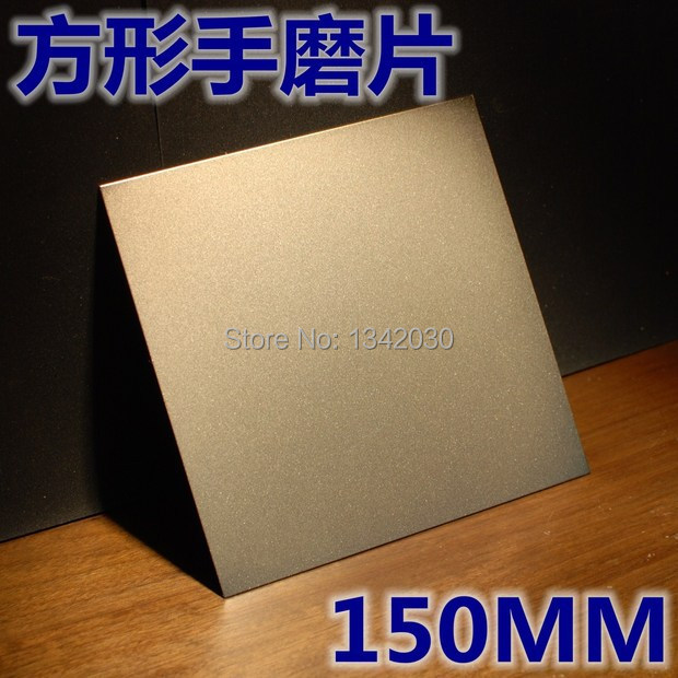 Алмазные абразивные инструменты, квадратный алмазный шлифовальный диск для стекла или нефрита, размер 150*150 мм, бесплатная доставка