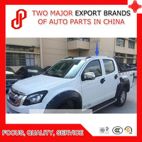 Silver color ABS sticker install car side rail roof rack for Hilux Revo 2015 2016 2017 2018