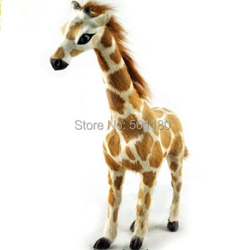 free shipping  handmade animal giraffe figurine decorative home