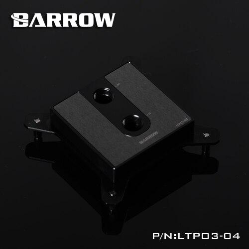 Barrow LTPO3 04 POM Water Cooling Block For Intel 1150 1151 1155 1156