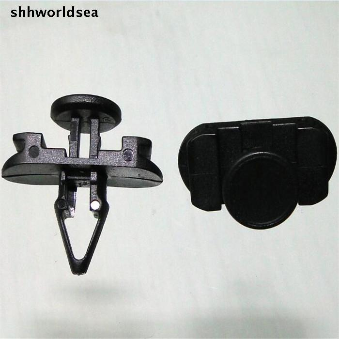 shhworldsea auto plastic fastener back door and window glass tank card buckle for VW