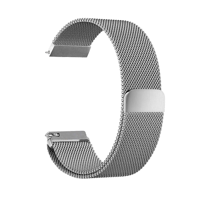 New Stainless Steel Luxury Magnetic Loop Watch Band Wrist Strap for Fitbit Blaze Metal Bracelet Black Silver Rose Gold T20 superior nylon watch band wrist strap steel metal frame for fitbit blaze smart watch dec 12
