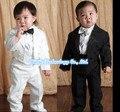 5 Peças de Algodão Roupa Dos Miúdos Roupa Dos Miúdos Roupas Infantis Ternos Formais de Casamento Crianças Bebê Cavalheiro Boys 'Traje