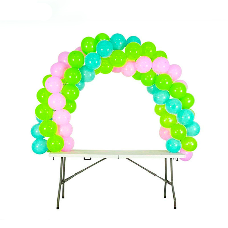 Cyuan DIY Balloon Arch Table Stand Birthday Party Balloons Accessories Clamps Wedding Decoration Table Balloons Arch Frame Kit