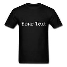 Дропшиппер настроить футболку Персонализированные свой собственный дизайн футболка с текстом